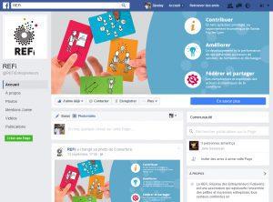 Rejoignez le REFi sur Facebook