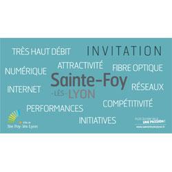 Soirée information Très Haut Débit à Sainte-Foy-lès-Lyon