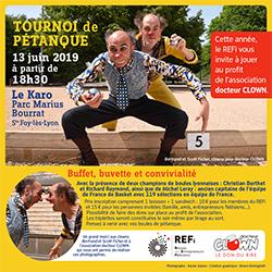 Invitation REFi'Fun tournoi de pétanque du 13 juin