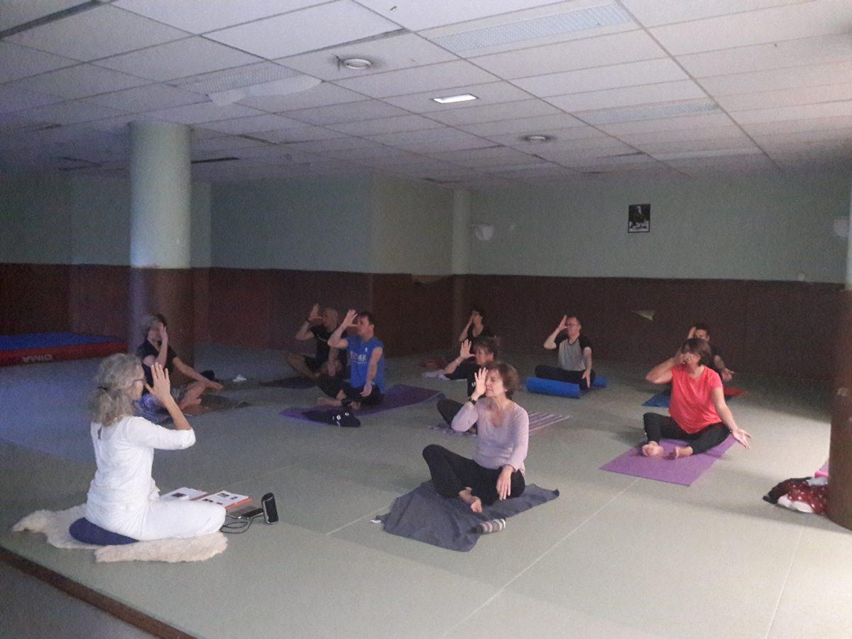 Retour sur l'atelier Kundalini Yoga animé par Christine Bruyas – 14 octobre 2019